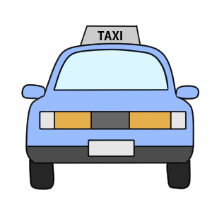 タクシー イラスト 書き方