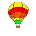 気球のイラストを簡単に 手書きでの書き方は?