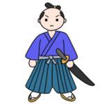 侍のイラストの簡単な書き方 手書きで描くなら?