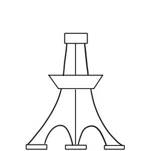 東京タワー イラスト 簡単