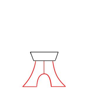東京タワー イラスト 書き方