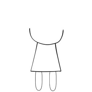 人形 イラスト 書き方