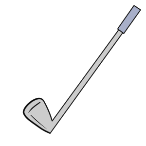 ゴルフ イラスト 簡単