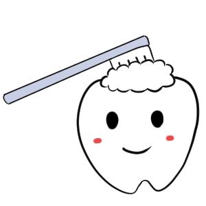 歯磨き イラスト 手書き