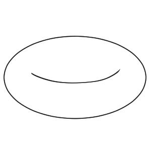 浮き輪 イラスト 書き方 手書き