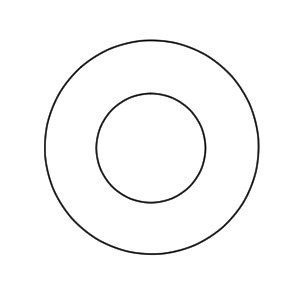 浮き輪 イラスト 簡単