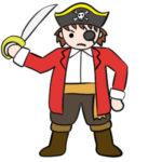 海賊のイラストの簡単な書き方 手書きで描くなら?