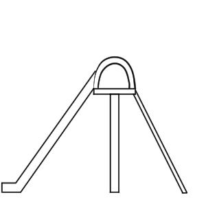 滑り台 イラスト 簡単