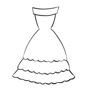 ドレス イラスト 描き方