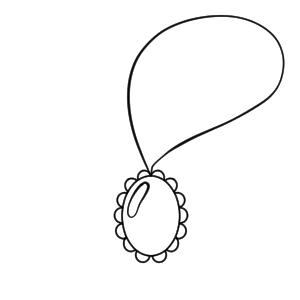 ネックレス イラスト 描き方
