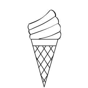ソフトクリーム イラスト 書き方 手書き