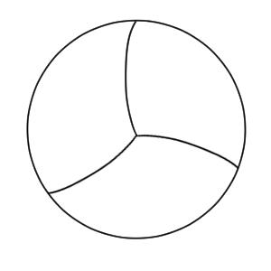 ドッジボール イラスト 簡単