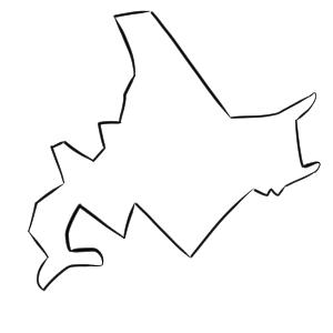 北海道 イラスト 簡単