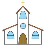 教会のイラストの簡単な手書きでの書き方は?