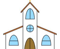 教会 イラスト 手書き