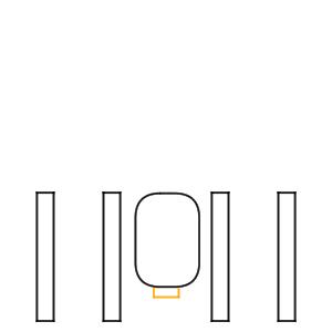 雷門 イラスト 簡単