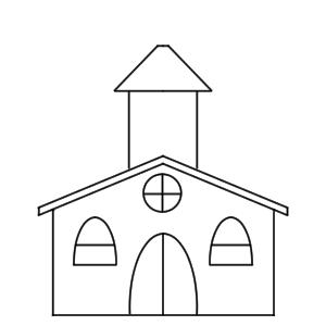 教会 イラスト 簡単
