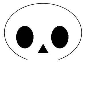 骸骨 イラスト 描き方