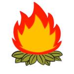 焚き火のイラストの簡単な書き方 手書きで描くポイントは?