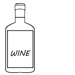 ワイン イラスト 簡単