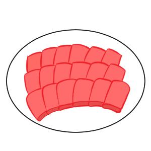 焼肉 イラスト 簡単