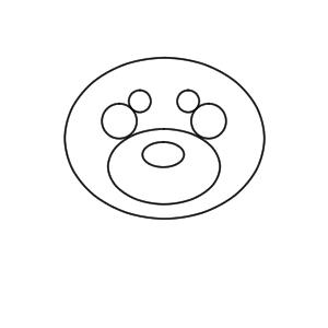 柴犬 イラスト 手書き 書き方