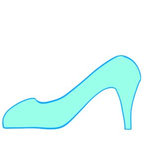 ガラスの靴 イラスト 書き方