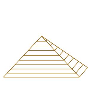 ピラミッド イラスト 書き方