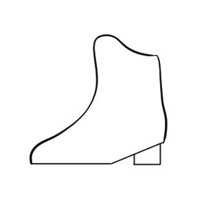スケート イラスト 簡単