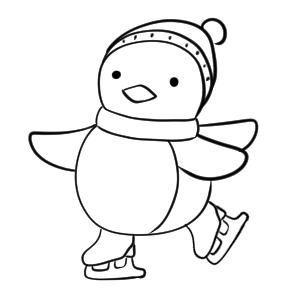 スケート イラスト 書き方