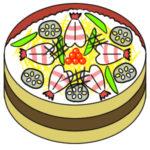 ちらし寿司のイラストを手書きで 簡単な書き方とは?
