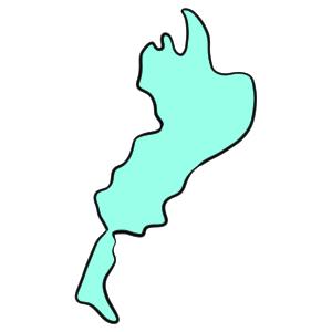 琵琶湖 イラスト 書き方