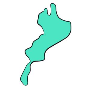 琵琶湖 イラスト 簡単