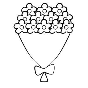 花束 イラスト 手書き